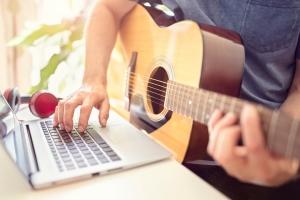 online cursus gitaar spelen